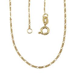 Corrente feminina folheada a ouro - Clique para maiores detalhes