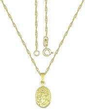 Gargantilha folheada a ouro c/ medalha de N. Sra. Desatadora dos Nós - Clique para maiores detalhes