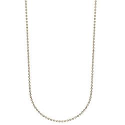 Gargantilha longa de strass folheada a ouro c/ extensor de comprimento - Clique para maiores detalhes