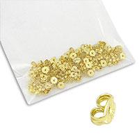 Pacote de tarrachas folheadas a ouro (100 unidades) - Clique para maiores detalhes