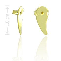 Tarracha para brincos ear cuff folheada a ouro - Clique para maiores detalhes