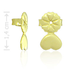 Tarracha folheada a ouro especial para orelhas rasgadas - Clique para maiores detalhes